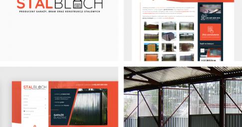 Całkowicie odświeżona witryna internetowa dla Stal Blach