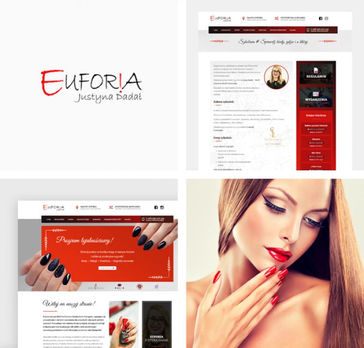 Rozbudowany serwis marki Euforia Justyna Dadał
