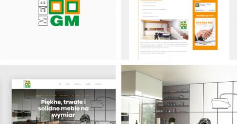 Responsywna strona www dla firmy GM MEBLE