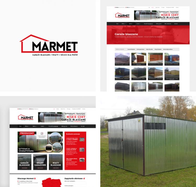 Rozbudowany serwis dla Garaże MARMET