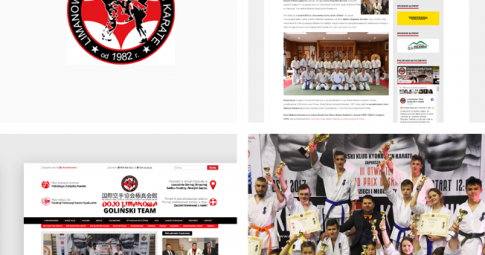 Serwis klubowy dla Limanowskiego Klubu Kyokushin Karate