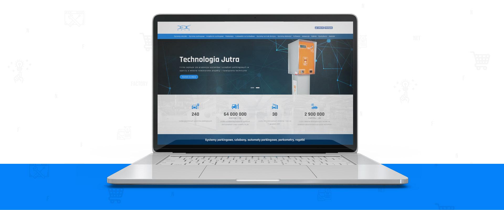 Odświeżenie witryny internetowej firmy DEJW