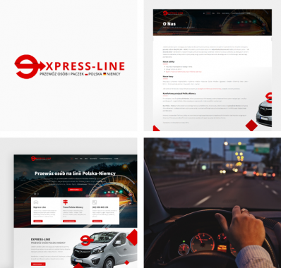 Responsywna witryna internetowa dla międzynarodowego przewoźnika Express-Line