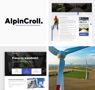 Odświeżona firmowa strona internetowa dla AlpinCroll