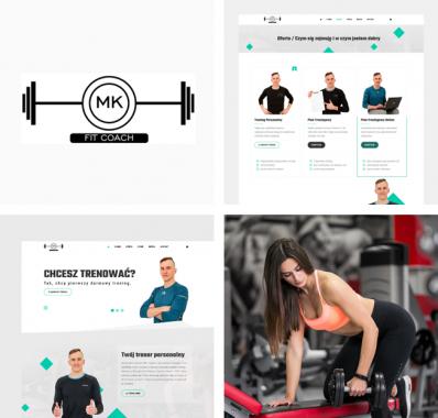 Rebranding marki MK FIT COACH – odświeżenie strony www trenera personalnego