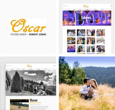 Odświeżenie strony internetowej dla Studio Video Oscar
