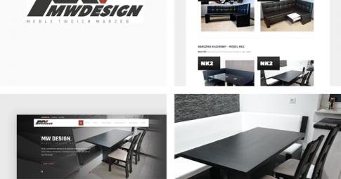 MW-DESIGN Meble Twoich Marzeń – kompleksowe odświeżenie wizerunku marki