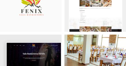 Strona internetowa dla Sali Bankietowej Fenix
