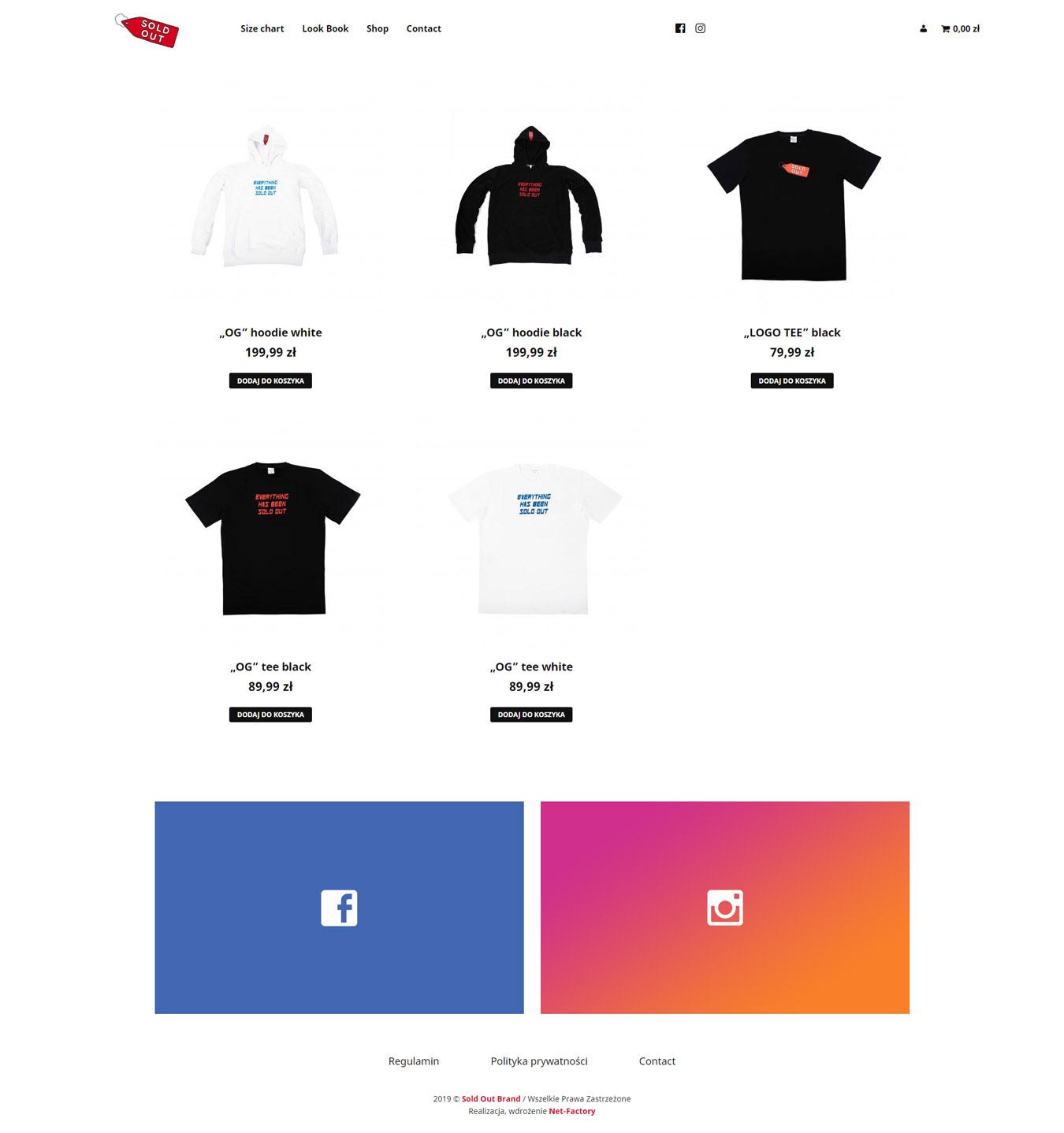 Sold Out Brand – Sklep internetowy z autorską odzieżą codzienną