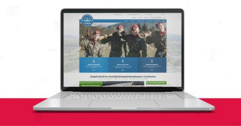 Odświeżyliśmy stronę internetową dla Zespołu Szkół w Tymbarku!