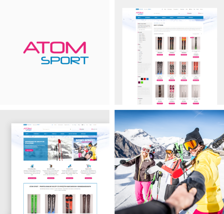 Sklep Internetowy dla ATOM SPORT