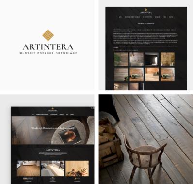 Firmowa strona internetowa dla ARTINTERA