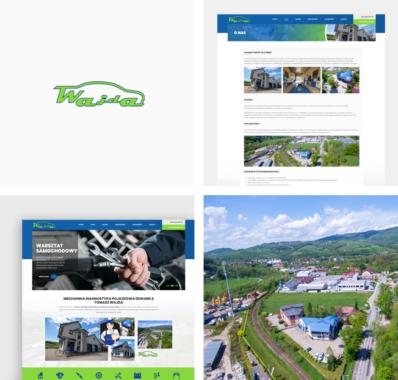 Responsywna strona dla Stacji Kontroli Pojazdów E&T Wajda w Limanowej