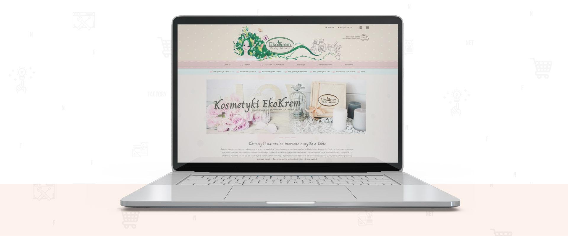 Naturalne kosmetyki EkoKrem – sklep internetowy