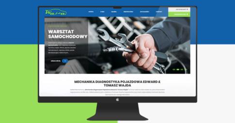 Odświeżona strona internetowa Stacji Kontroli Pojazdów Edward & Tomasz Wajda w Limanowej