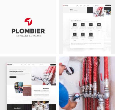 Odświeżona, responsywna strona internetowa dla Plombier