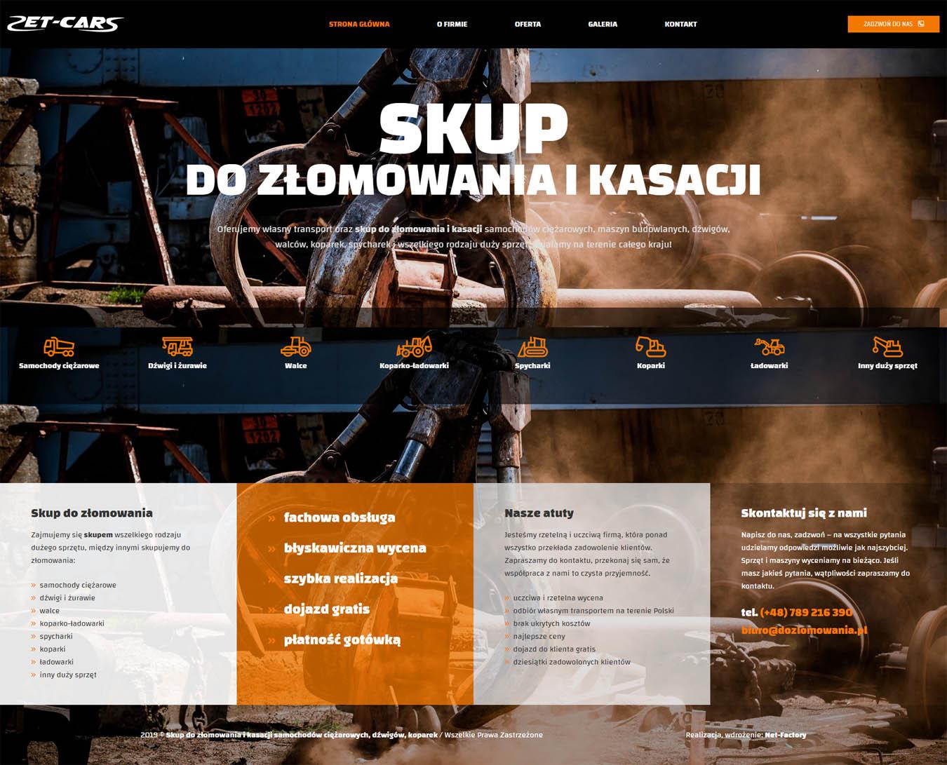 Strona internetowa dozlomowania.pl