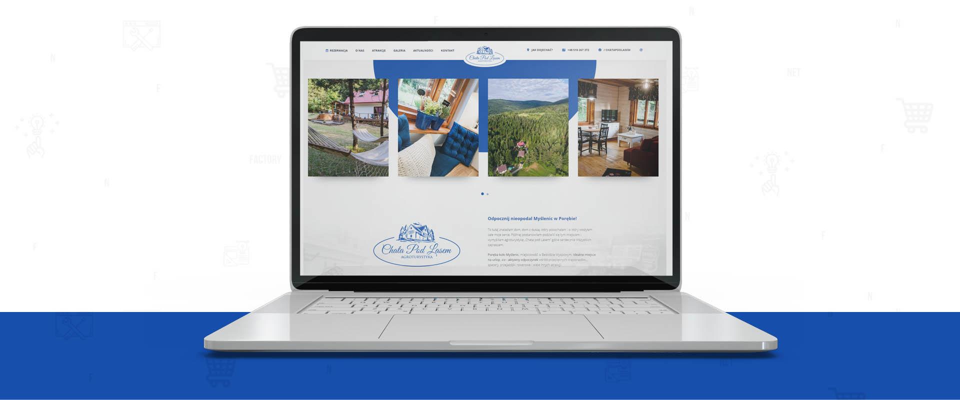 System rezerwacji pobytu oraz płatności online dla Chata pod Lasem