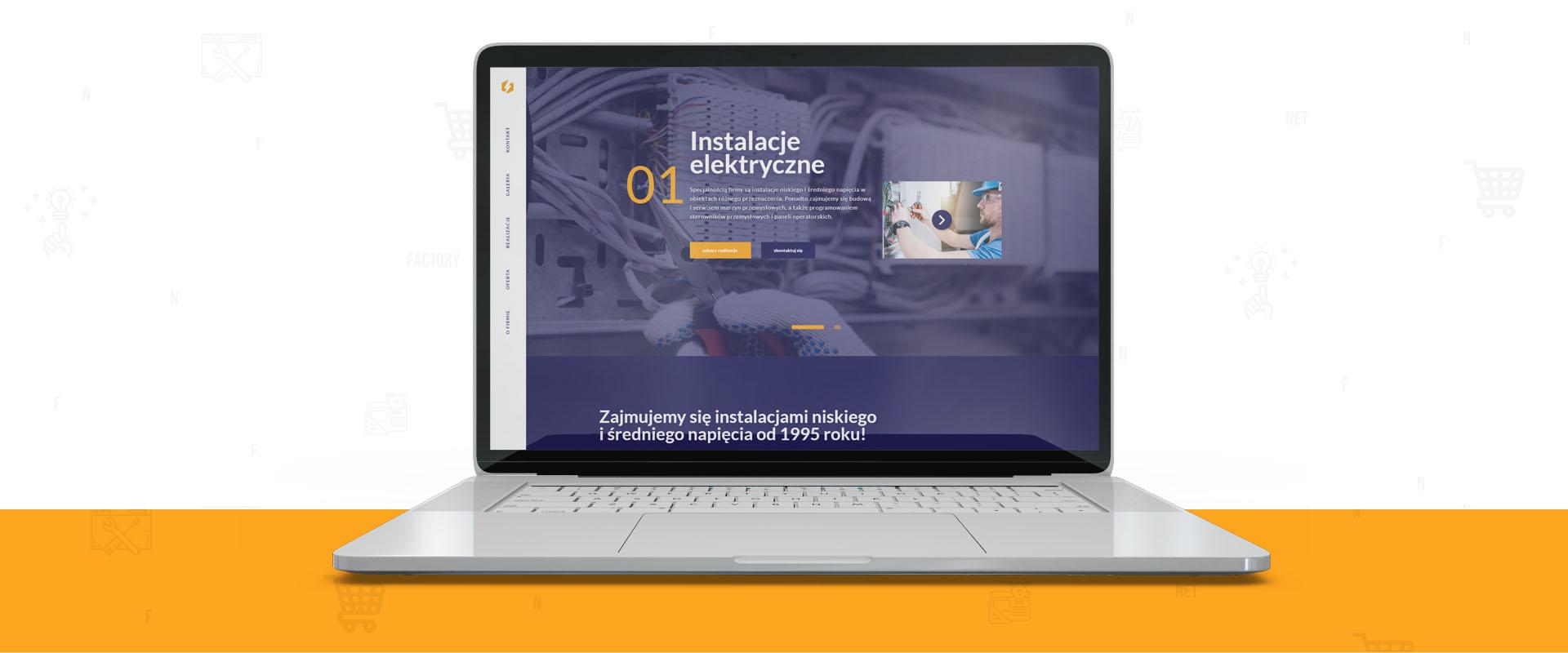 Odświeżona strona internetowa dla Elektropol
