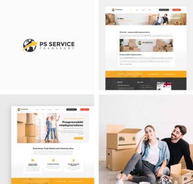 Strona internetowa dla PS Service