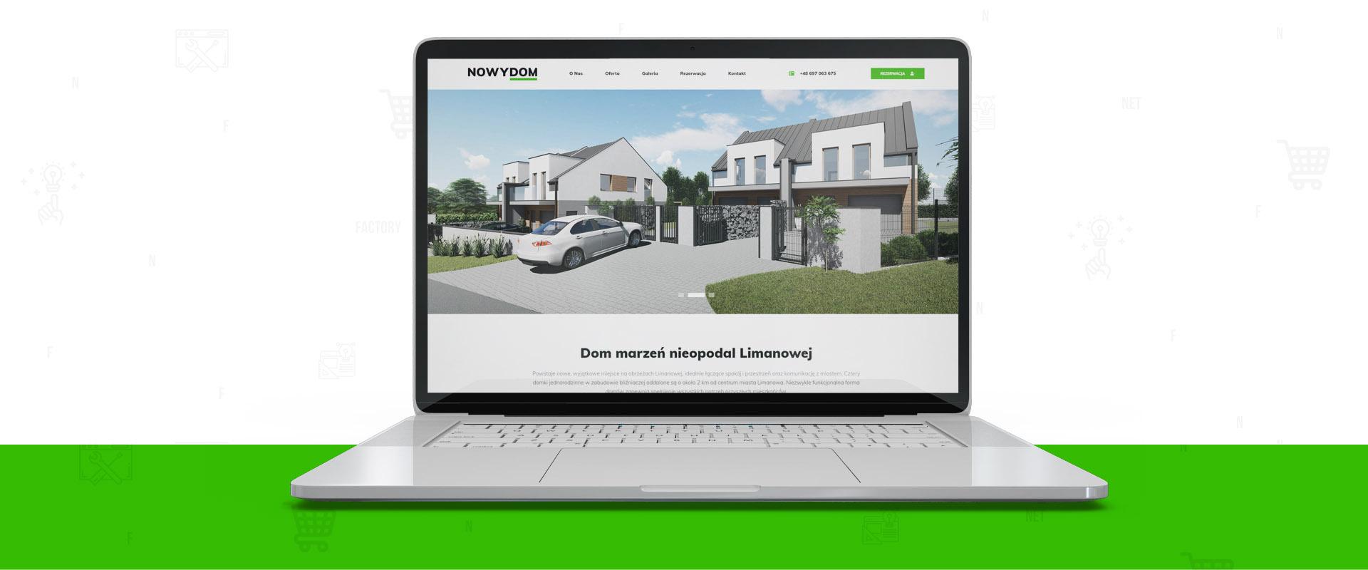 NowyDom.net – Twój dom marzeń z nową stroną internetową