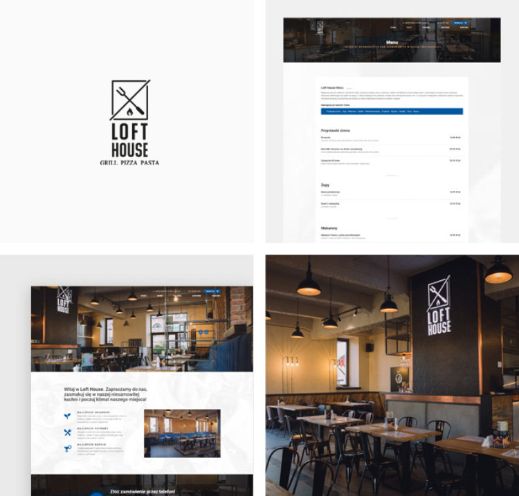 Restauracja Loft House w Limanowej