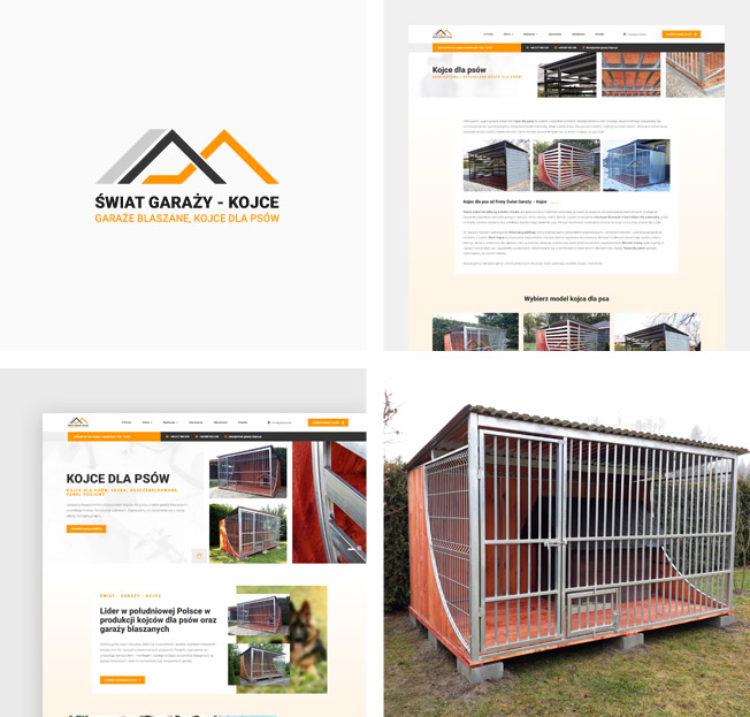 Świat – Garaży – Kojce dla psów – responsywna witryna firmowa!