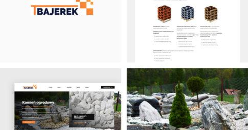 Witryna internetowa dla Bajerek.com.pl