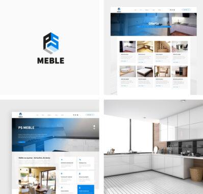 Strona internetowa dla PS Meble