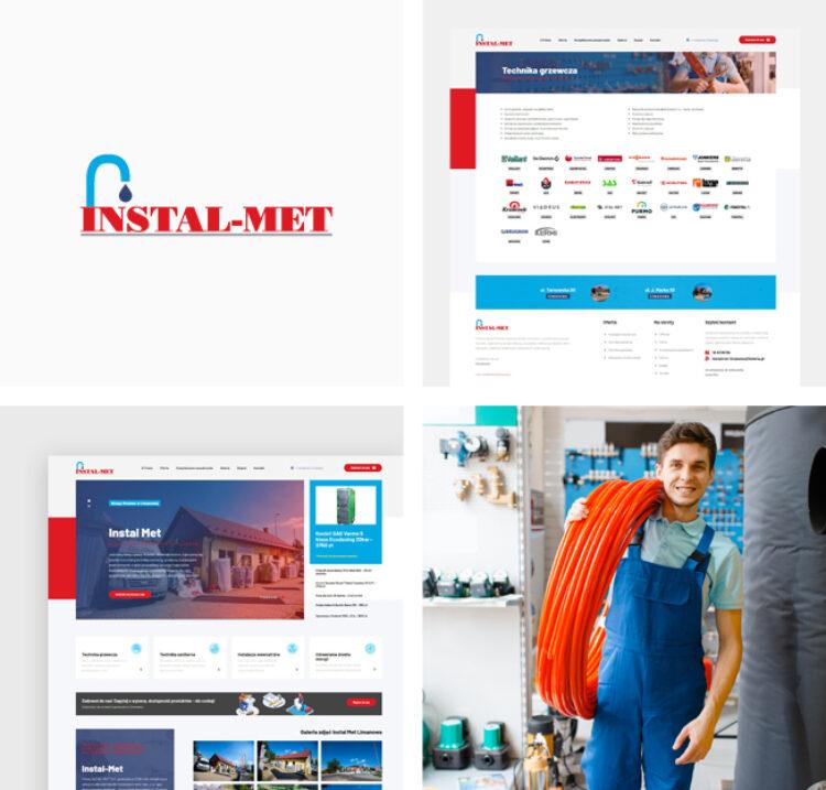 Strona internetowa dla Instal Met S.C. z Limanowej