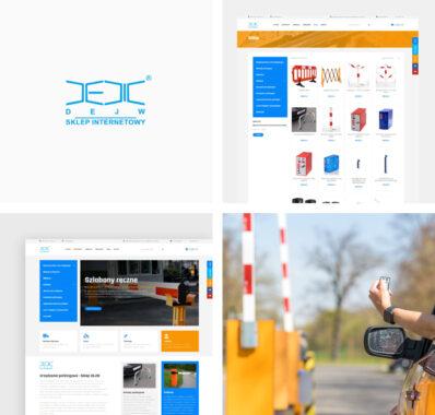 Sklep internetowy dla firmy DEJW