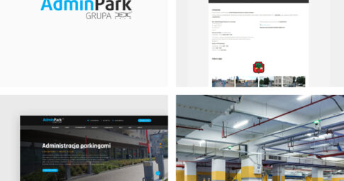 Strona internetowa dla marki Admin Park