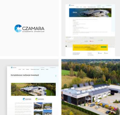 Strona internetowa dla firmy CZAMARA
