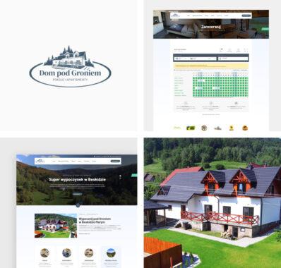Dom pod Groniem – Pokoje & Apartamenty – strona internetowa