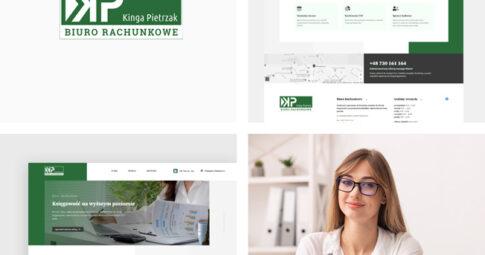 Strona internetowa dla Biura Rachunkowego KP w Limanowej