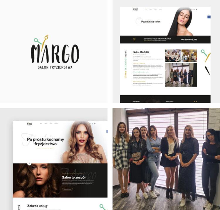 Strona www dla Salonu MARGO