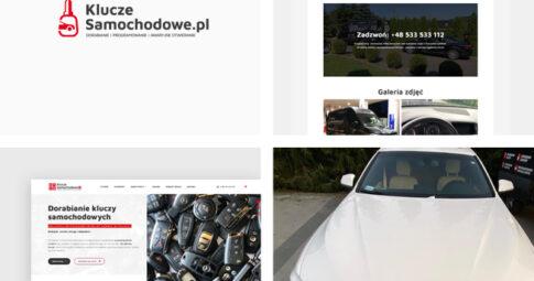 Witryna internetowa KluczeSamochodowe.pl
